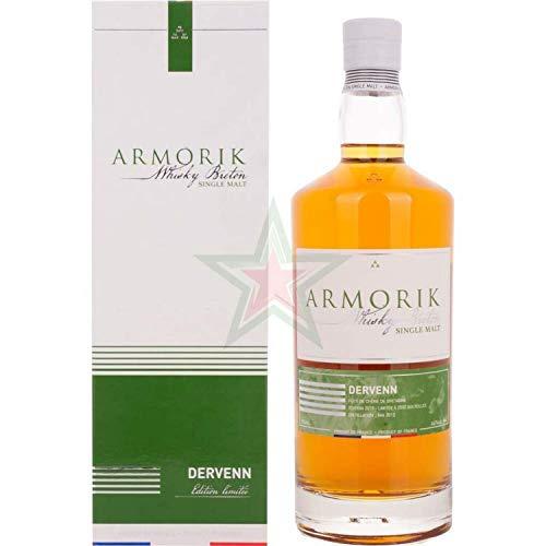 Armorik Single Malt DERVENN Whisky Breton 2019 (1 x 0.7 L)