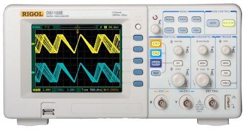 Yuqiyu Rigol DS1052E 50MHz Osciloscopio Digital 2 Canales analógicos 50 MHz Ancho de Banda