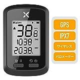 XOSS Gサイクリングコンピュータ、GPSワイヤレスサイクリングスピードIPX7防水MTB走行距離計Bluetooth (G)