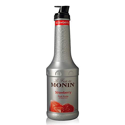 Monin Erdbeerpüree 1 Liter - Single Bottle