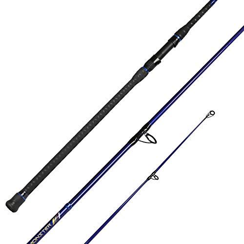 Fiblink Surf Spinning Fishing Rod Carbon Fiber Travel Fishing Rod(11-Feet & 12-Feet & 13-Feet & 15-Feet) (13 Feet - 2 Piece)