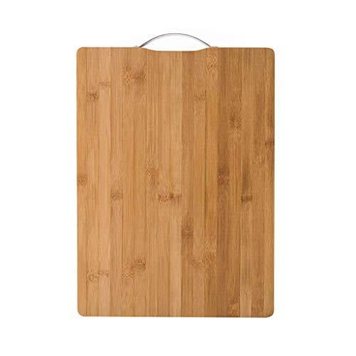 Wyxy Tabla de Cortar de bambú, Mini Tabla de Cortar de Doble Cara para Picar y Servir Carne, Verduras, Frutas, Respetuoso con el Medio Ambiente