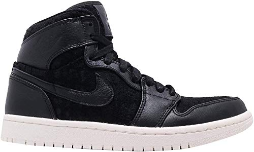 Nike Wmns Air Jordan 1 Ret Hi Prem, Scarpe da Fitness Donna, Multicolore (Black/Metallic Gold-007), 39 EU