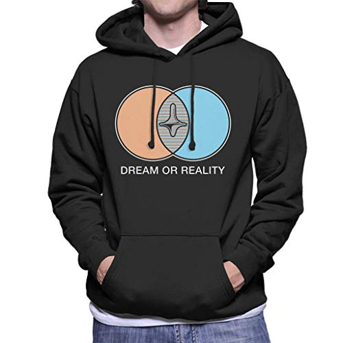 Cloud City 7 Inception Dream Or Reality Men's Hooded Sweatshirt