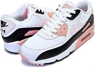[ナイキ] ウィメンズ エアマックス 90 325213-143 WMNS AIR MAX 90 white/light soft pink-black レディース スニーカー AM90 ホワイト ピンク [並行輸入品]