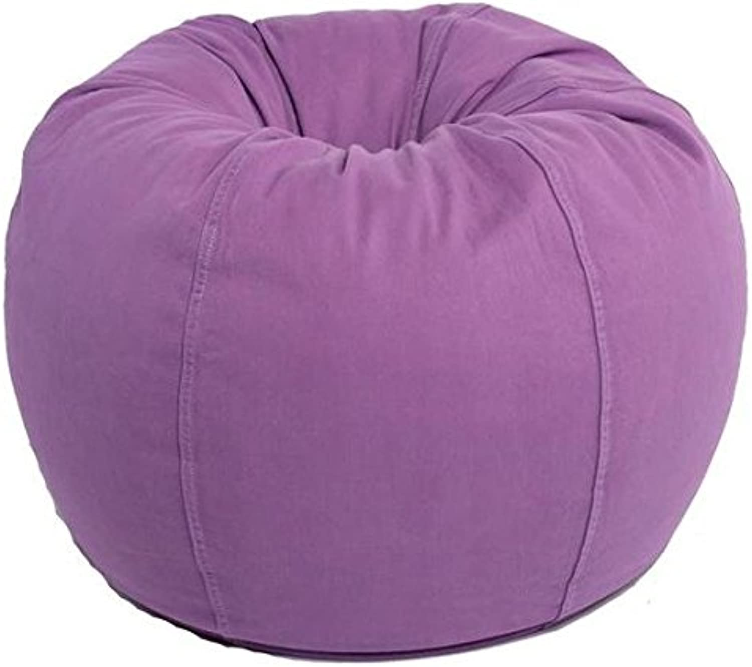 Mybeanbag Chair Kids Round, Twill, Purple