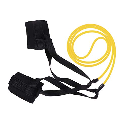 LIOOBO Swim Stationary Ankle Strap Swimmer Fitness Swim Lap Swim Training Strap 6x9x2m
