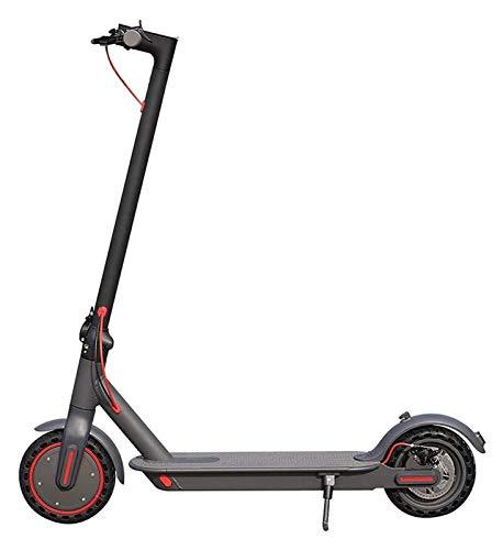 JSZHBC Scooter eléctrico Freno de Doble Pantalla LCD Función 3 Velocidad Plegable Scooter con Velocidad for Adultos de la Ciudad al Aire Libre del Viajero Vespa Safe Riding and Enjoy Fun