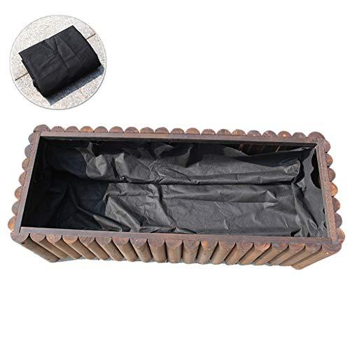 GZYQYIHJB Contenedor De Flor De Madera Al Aire Libre Rectangular Deeptrough Box - Cajas De Plantas De JardíN De Madera - Longitud 120cm