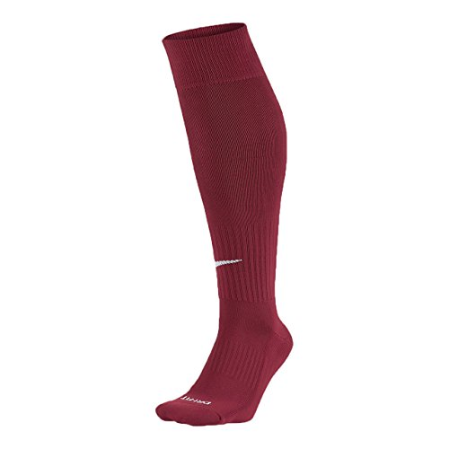 Nike Knee High Classic Football Dri Fit Calcetines, Unisex Adulto, Rojo (Team Red/White), S (34-38)
