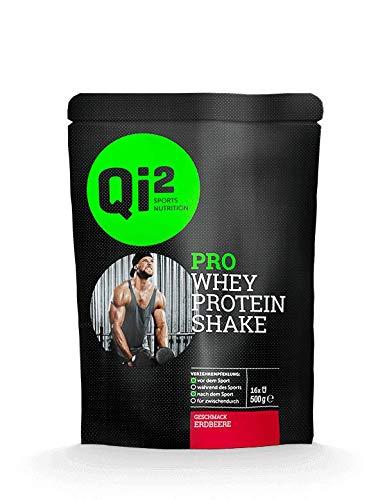 Qi² PRO Whey-Protein Shake Erdbeere