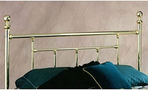 ADHW Full Metal Poster Spindle in cheap Headboard Brass Over item handling Classic