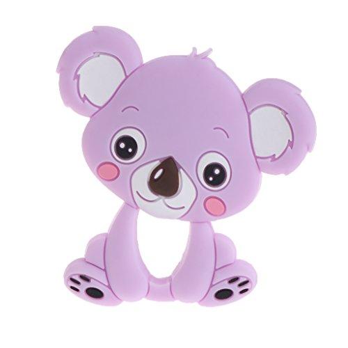 Exing, Massaggiagengive per bambini, in silicone, a forma di koala
