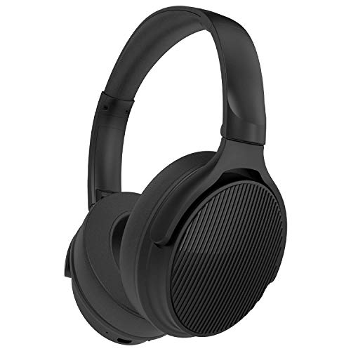 Betron EMR90 Bluetooth Foldable Headphones with Mic and Powerful Bass, Portable Over Ear Wireless Headphone for Android, iPhone, iPad, MP3 Players, Smartphones, Tablets
