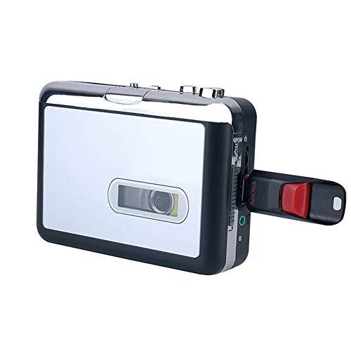 P02 Kassette zu mp3 Konverter über USB Stick Rekorder Tape-to-mp3 Musik Player, Vor- und Rücklauf-Funktion