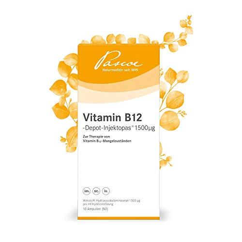 Pascoe® Vitamin B12-Depot-Injektopas 1500 µg - 10x1 ml