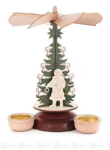 DREGENO Seiffen eG Teelichtpyramide Heiliger Abend