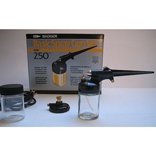 Badger 250-1 Basic Spray Gun Set Airbrushpistole Airbrush Pistole Airbrush-City