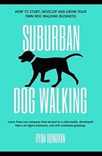 suburban dog walkers