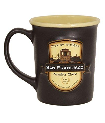 Americaware San Francisco Emblem 530 ml Kaffee Tee Tasse 12,7 cm lang x 12,5 cm hoch x 10,2 cm im Durchmesser.