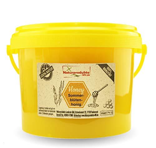 Sommerblütenhonig 2,5 kg Herkunft Deutschland Eimer Blütenhonig Honig