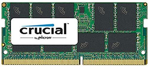 Crucial CT16G4TFD8266 Arbeitsspeicher-Module, 16GB DDR4 2666 MHz ECC (16 GB, 1 x 16 GB, DDR4, 2666 MHz, 260-Pin SO-DIMM)