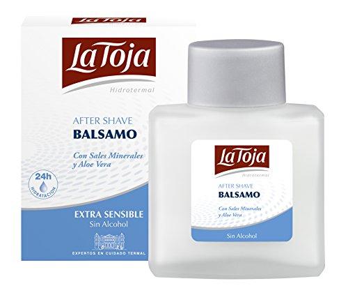 La Toja - Bálsamo Hidrotermal Extra Sensible - Con Aloe Vera y Sales Minerales que calman la irritación de la piel - 1 ud de 100 ml