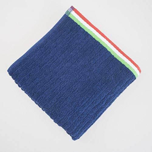 Fuduoduo Toallas de 100% Algodón,Toalla Absorbente de algodón Puro Suave y Grueso 34 * 70-Royal Blue 3pcs,Toallas De BañO 100% AlgodóN Peinado