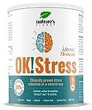 Nature's Finest OK!Bebida de estrés | 7 vitaminas B | Clínicamente probado para reducir el estrés | Contiene Serenzo™ | Adecuado para vegetarianos y veganos