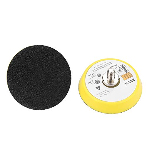 Oumij1 Glass Scratch Removal Set, Ceric Dioxide Abrasive Discs Polish Pad Felt Practical Glass Scratch Removal Kit Suitable for Any Windscreen Other Type Glass