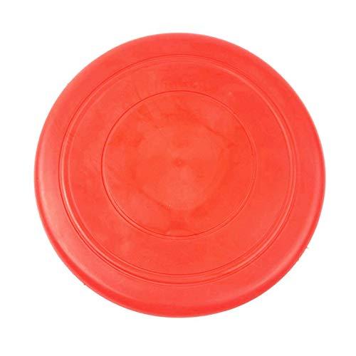 N\C Platillo Volador de Silicona Suave Antideslizante Juguete masticable para Perros Juego de Mascotas Juguete Interactivo de Entrenamiento con Frisbee