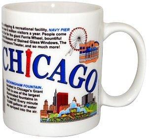 Chicago Mug - Collage, Chicago Mugs, Chicago Coffee Mugs, Chicago Souvenirs