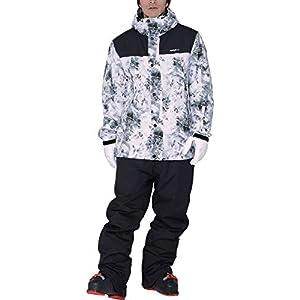 PONTAPES(ポンタぺス) スキーウェア 上下セット メンズ レディース 全11色 6サイズ POSKI-129 POSKI-NW10(2LN-3030*ST-99) Mサイズ スノーウェア スノボ ウェア 20-21 ジャケット パンツ