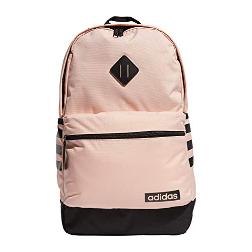 adidas Unisex Classic 3S Backpack, Glow Pink/Black, ONE SIZE