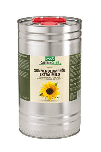 Byodo Extra Mildes Sonnenblumenöl, 1er Pack (1 x 5 l Dose) - Bio