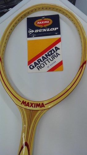 "Maxima Torneo Deluxe Raqueta Tenis Vintage Grip M 41/2\"""