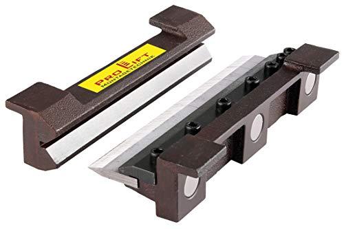 Pro-Lift-Montagetechnik Abkantbacken Biegebacken 200 mm mit Magnet Winkel-Bieger manuell Blechbiegearbeiten Schraubstock Schonbacken