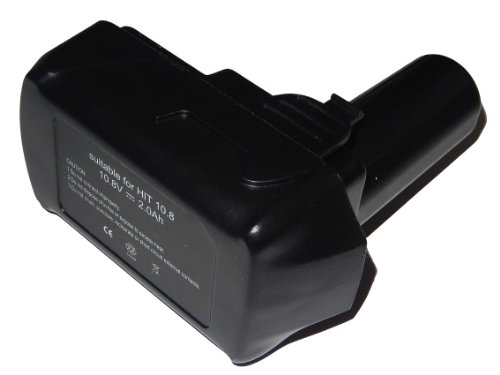 vhbw Akku 2000mAh (10.8V) für Werkzeug Hitachi/HiKOKI CJ10DL, CR 10DL, CR10DL, DB 10DL, DB10DL, DB3DL, DS10DFL, FCG 10DL, FCH 10DL, FCR 10DL, FCR10DL