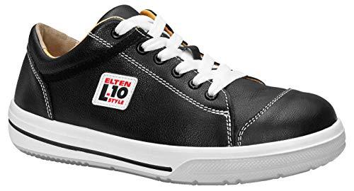 ELTEN Sicherheitsschuhe SHADOW Low ESD S3, Herren, sportlich, Sneaker, leicht, schwarz, Stahlkappe - Größe 44