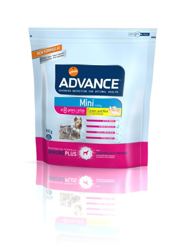 ADVANCE MINI SENIOR Poulet et riz - 800 g