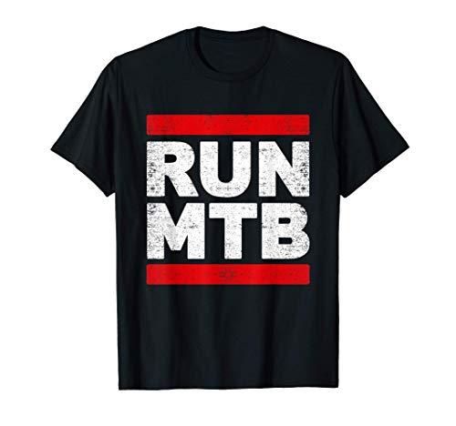 Mountain Bike Gear Cycle Accessories RUN MTB T-Shirt