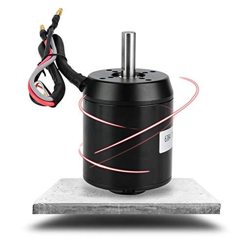 Gugxiom Motor eléctrico de la Vespa, Motor eléctrico 120KV Motor con Sensor sin escobillas a Prueba de Polvo para Motor con Pasillo
