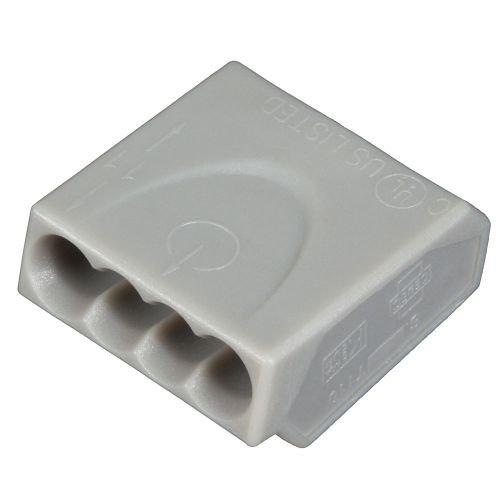 ViD C1004251 Verbindungsklemmen/Steckklemmen grau 0,5-2,5 mm² 100 Stück