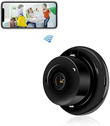 Veroyi Mini Hidden Camera Portable Home Security Camera WiFi Surveillance Camcorder Nanny Cam product image