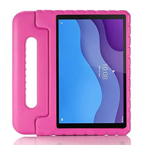 HHF Pad Accesorios para Lenovo Tab M10 HD (2nd Gen) TB-X306F, Caja de tabletas Safe EVA de EVA para niños Funda a Prueba de Golpes para Lenovo Tab M10 HD 10.1' (Color : Rose)