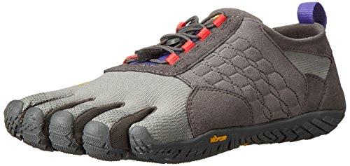 Vibram FiveFingers Damen TREK Ascent Outdoor Fitnessschuhe, Mehrfarbig (Dark Grey/Lilac), 38 EU