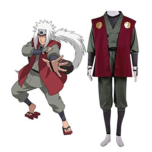 CCCYT Naruto Disfraz de Cosplay de Anime, Anime Cosplay Disfraz de Halloween Mascarada Trajes Adulto
