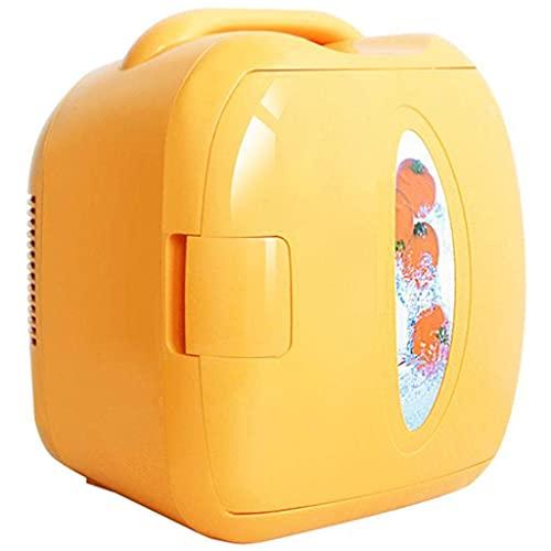 8L Mini Nevera, Coche portátil Hogar Pequeño refrigerador Refrigerador Personal Adecuado para Viajes de Oficina de Dormitorio