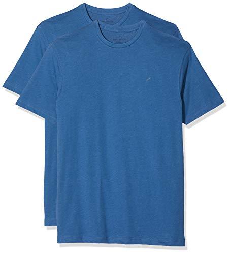 Daniel Hechter Herren Crew Neck T-Shirt, Blau (Blue 650), (Herstellergröße: XX-Large)
