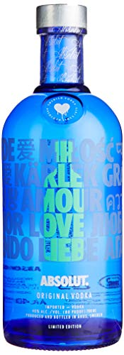 Absolut Vodka LOVE Limited Edition Wodka (1 x 0.7 l)
